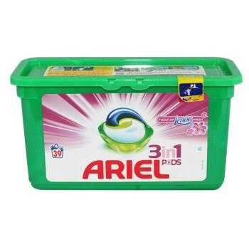ARIEL CAPSULE PODS 39/SET TOUCH OF LENOR